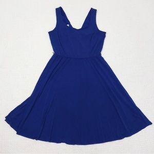 London Times Royal Blue sleeveless dress size 10